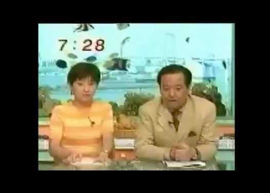 テレビの放送事故