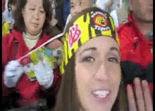 【海外の反応】阪神タイガースの応援体験でハイテンションの外国人