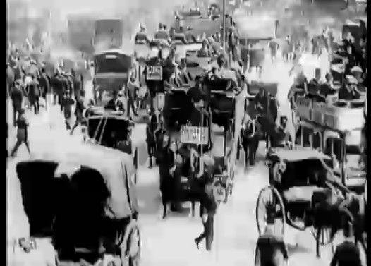 【貴重】1896年に撮影されたイギリス・ロンドン