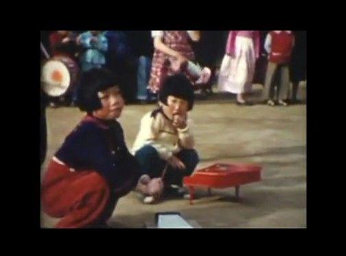アメリカ兵が8mmビデオで撮影した1950年代の日本と朝鮮のカラー映像