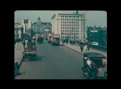 【貴重なカラー映像】 1926年(大正15年)のロンドン