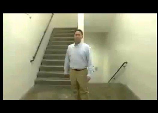 階段を使った信じられないマジック