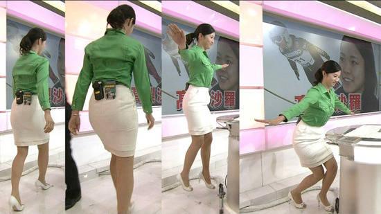 NHKアナウンサーのピチピチなタイトスカートで強調してるケツエッロwwwwwwww※画像あり