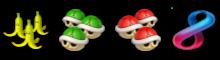 バナ3、緑3、赤3、ミラクル8