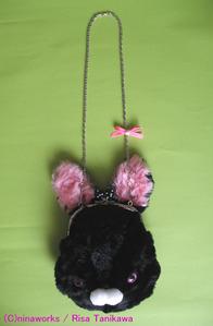 black bunny bag 2