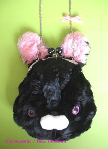 black bunny bag 1