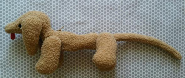 気狂いピエロ・犬ポーチ1