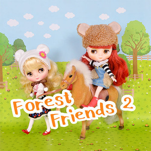 Forest Friends 2 dm