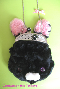black bunny bag 3