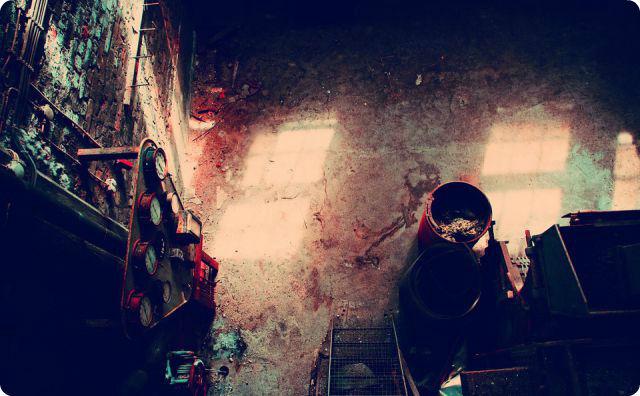 倉庫、廃墟