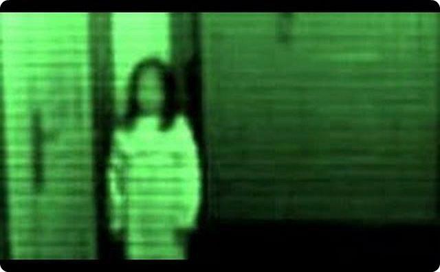 防犯カメラ-中古テレビ-画面にありえない映像が焼きついていた…