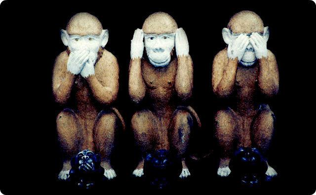 見猿聞か猿言わ猿