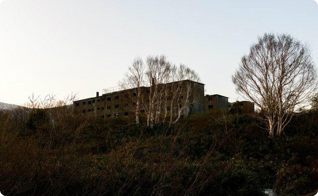 山奥の廃墟