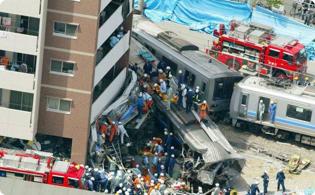 福知山線脱線事故
