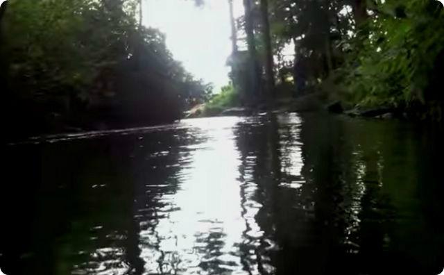 カッパ、河川
