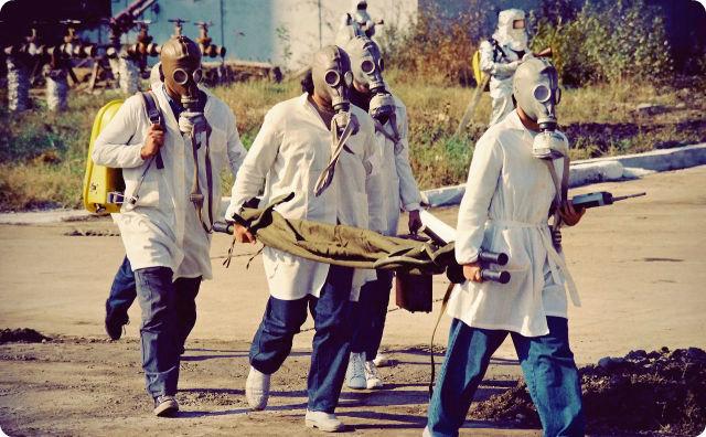 マスク、集団