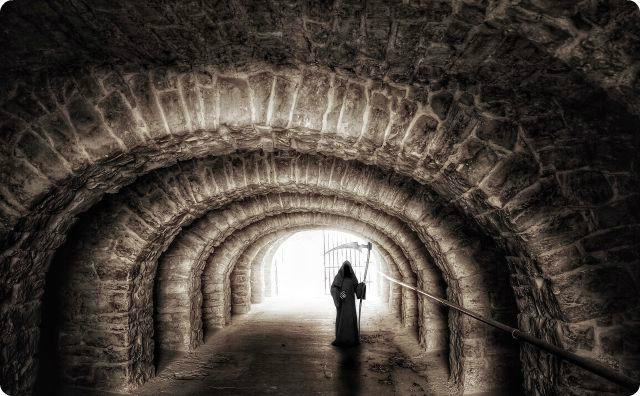 死神、トンネル