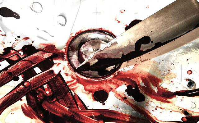 包丁、血液