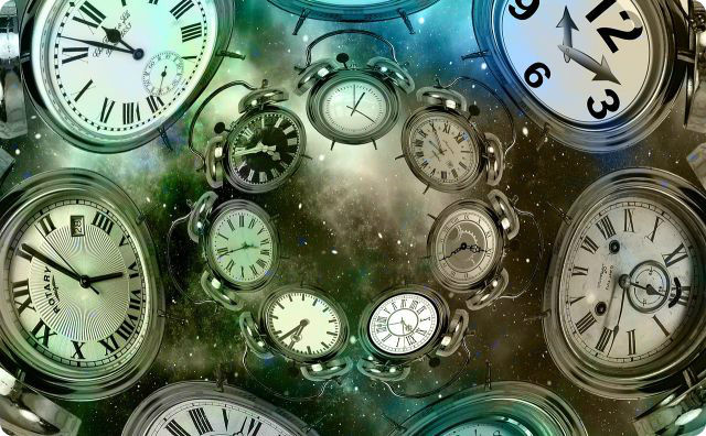 時空、時計