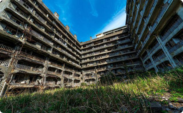 長崎、廃墟、施設、治験