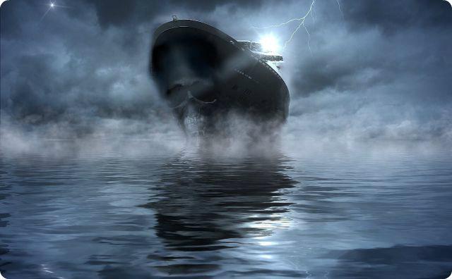 海で実際に体験した凄い話-霧-船