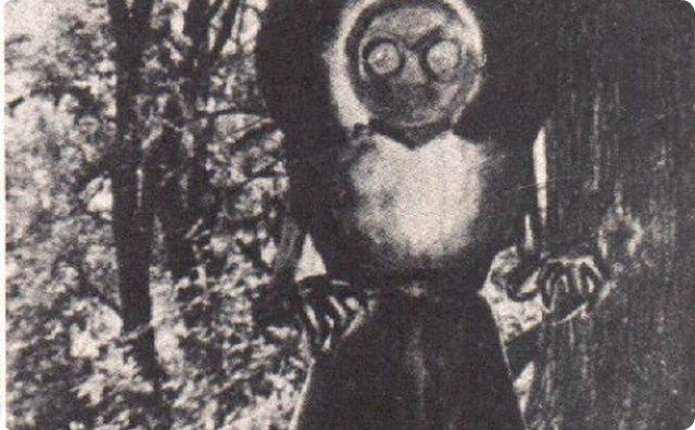 宇宙人-不気味な謎の生物