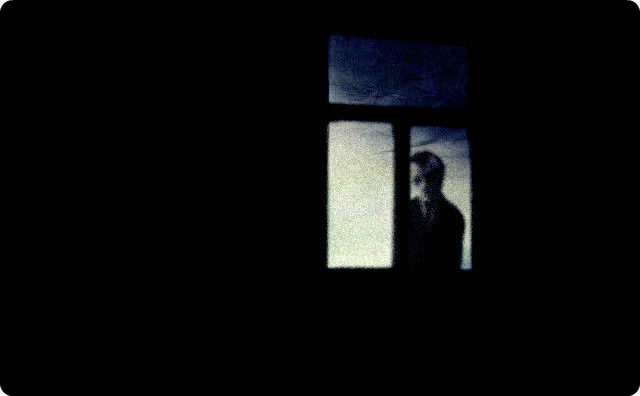 夜中の訪問者