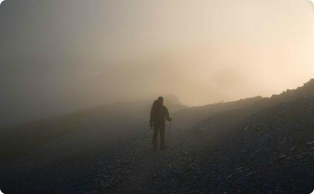 【四国の山】登山中に『謎の男』を見たんだが、気味が悪い…