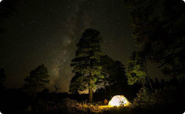 キャンプ、テント