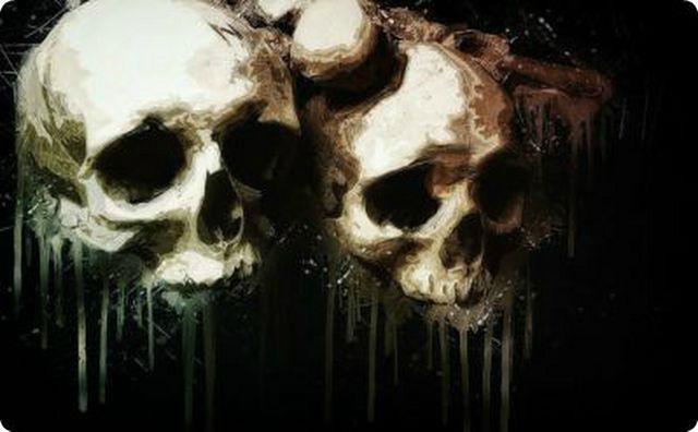 ドクロ、骸骨