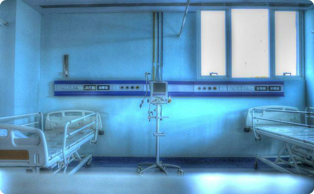 病室、不気味