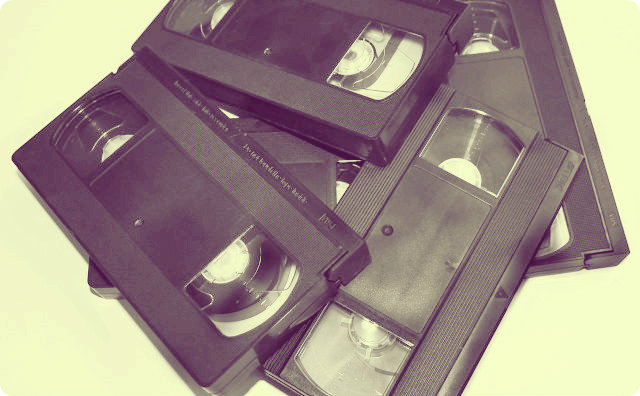 ビデオテープ,お蔵入り、怖い