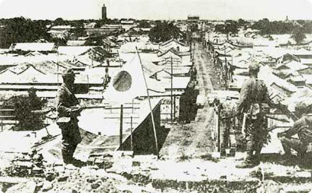 戦時中、事件