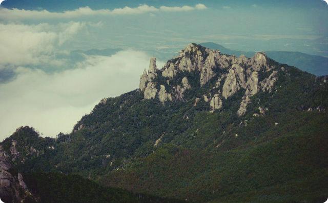山梨の瑞牆山