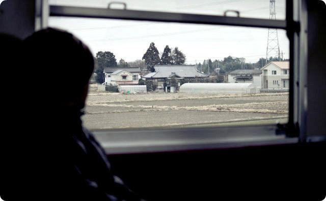 田舎の電車