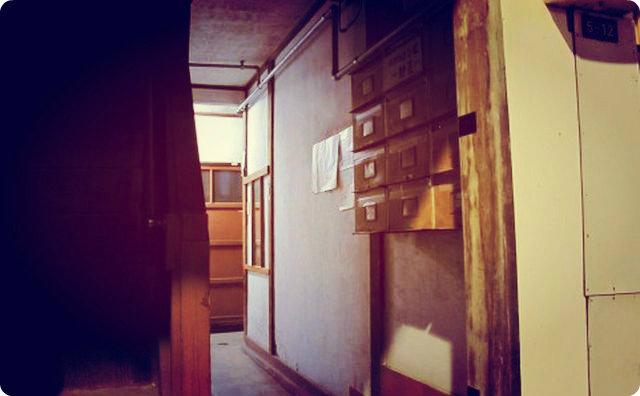 アパート、押入れ、恐怖体験