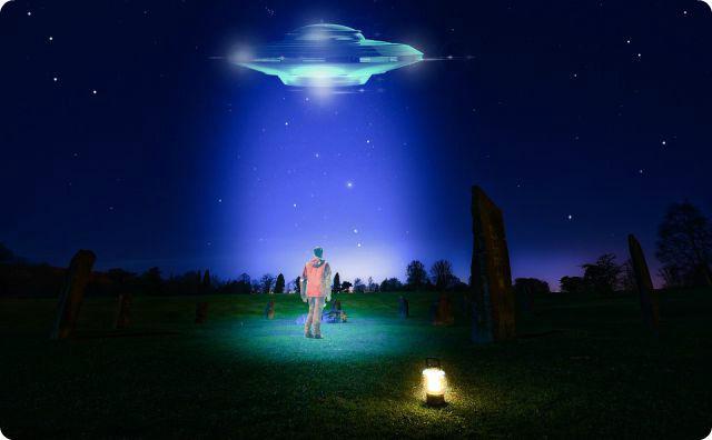 UFO、宇宙人
