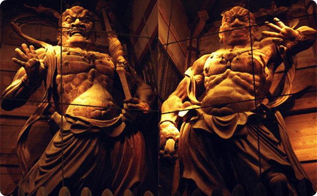 【猿】東日本大震災の時に実際に体験したすごい話-仁王像