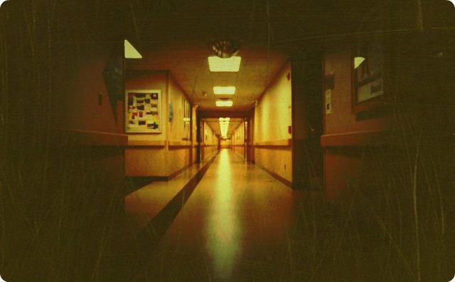 病院、看護師、不気味