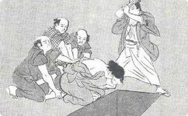 江戸時代の首切り