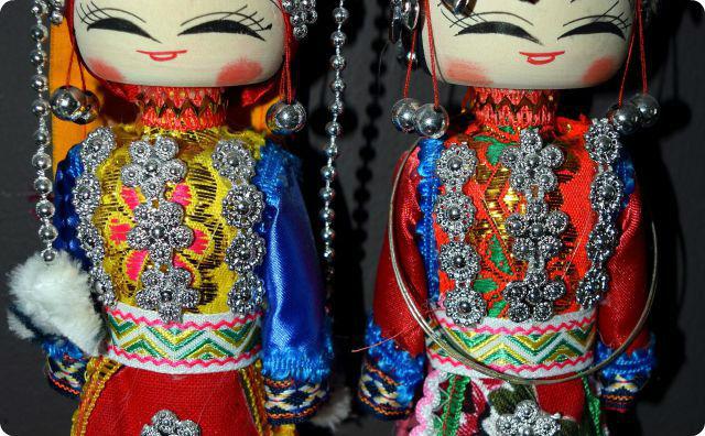 中国の人形