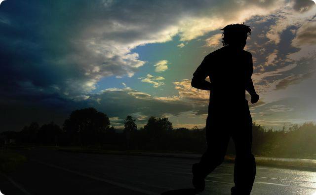 ランニング、マラソン、怖い体験