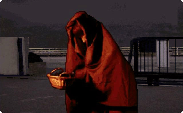 婆さん-深夜バイト-怖い話