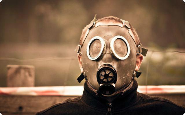 マスク、男