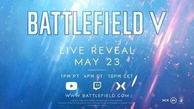 新たな戦線が描かれる『バトルフィールドV』正式発表!!詳細情報は5月24日午前5時に配信予定