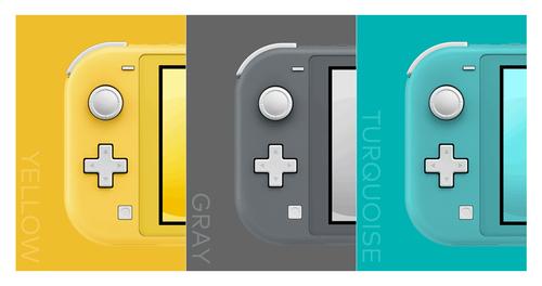 SwitchLiteには十字キーが搭載されている