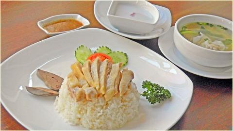 New Prawjai(蒸し鶏のせご飯)