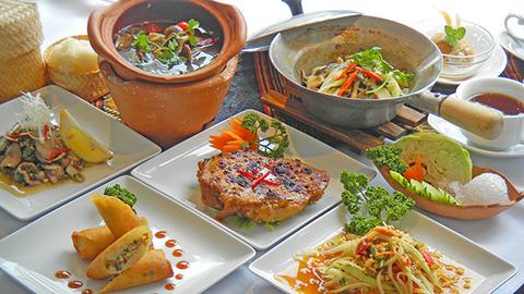 料理長おすすめ イサーンコース(タイ東北料理)