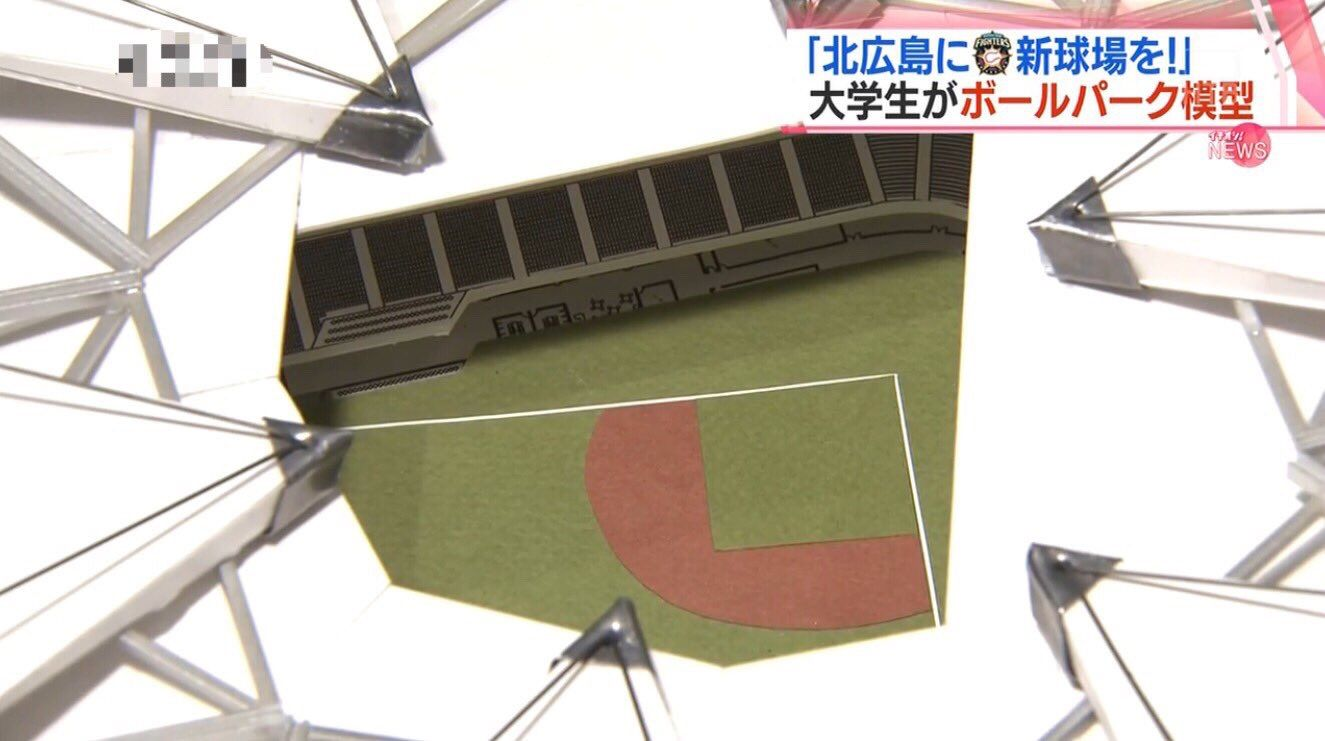 J なん 日ハム 球場 新