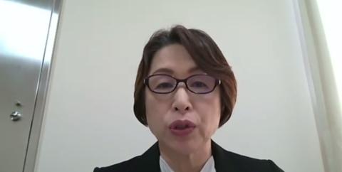 及川会長WEB会見